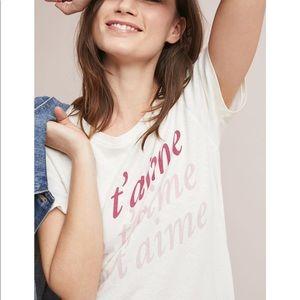 Junk Food | Je T'Aime T Shirt